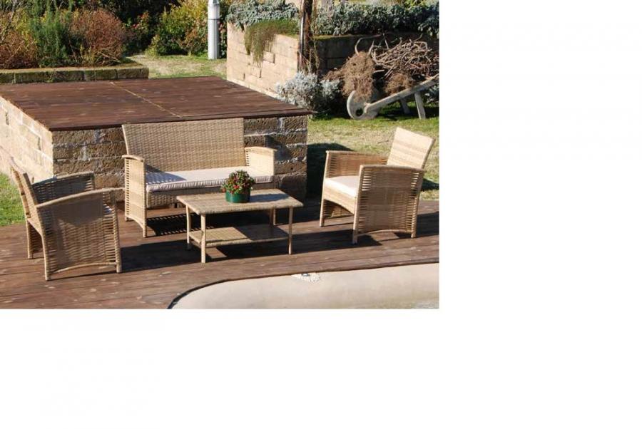 Set completo salottino da esterno smart caffe 39 my garden - Salottino da esterno ...